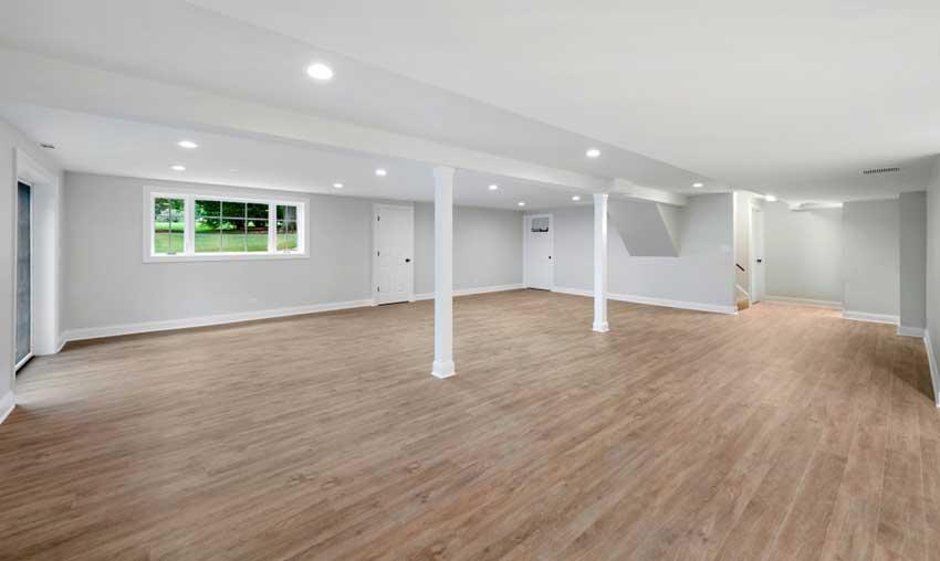 nytt golv till källaren
