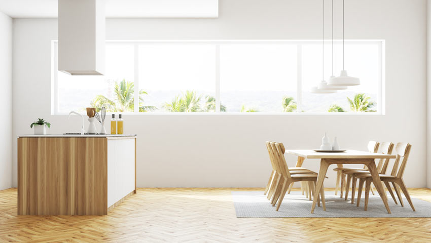 blanda träslag på golv i hemmet